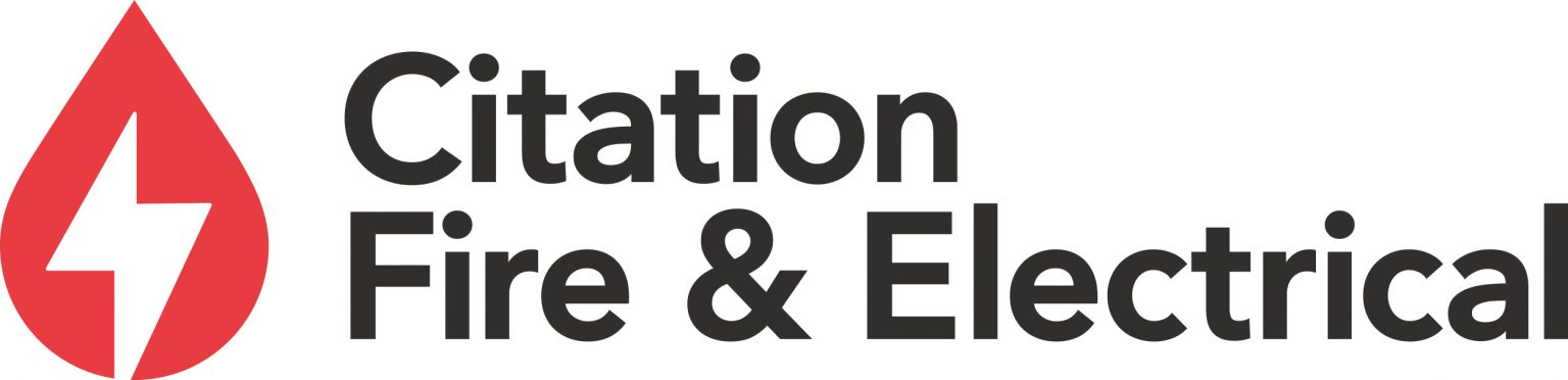 Citation fire and electric logo