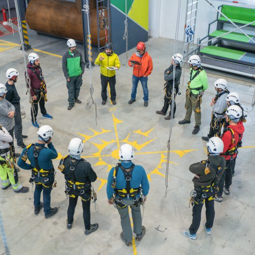 Group training on behavioural safety
